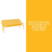 Croisette 3 Seater Bench - Honey