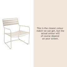 Surprising Low Armchair - Linen