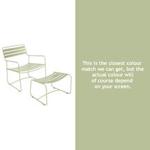 Surprising Lounger - Willow Green