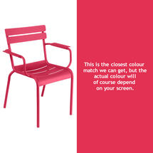 Luxembourg Stacking Armchair - Pink Praline
