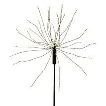 Allium Starburst LED Solar Outdoor Light Stake