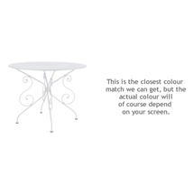 1900 Table 96cm - Cotton White