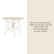 1900 Table 96cm - Linen