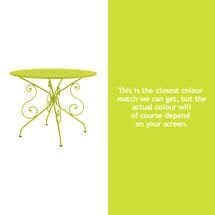 1900 Table 96cm - Verbena Green