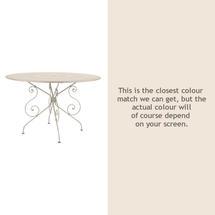 1900 Table 117cm - Linen