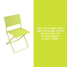 Plein Air Folding Chair - Verbena Green