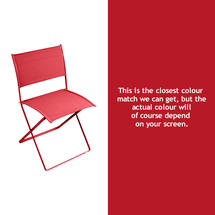 Plein Air Folding Chair - Poppy