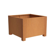 Square Planter with feet 80x140x140