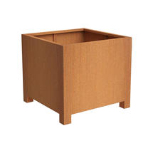 Square Planter with feet 80x80x80