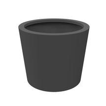 Small Aluminum Cone Planter 60x60