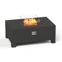 Gas Fired Firepit Aluminium - X Large