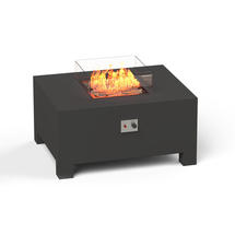Gas Fired Firepit Aluminium - Large