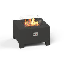 Gas Fired Firepit Aluminium - Medium