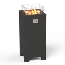 Gas Fired Firepit  Aluminium - Tall