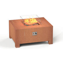Gas Fired Firepit Corten - Large