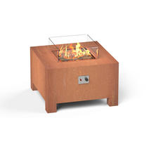 Gas Fired Firepit Corten - Medium