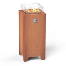 Gas Fired Firepit Corten - Tall
