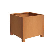 Square Planter with feet 60x60x60