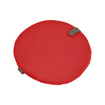 Round Chair Seat Cushion - Candy Red