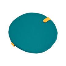 Round Chair Seat Cushion - Goa Blue
