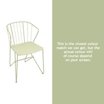 Flower Armchair Plain - Willow Green