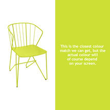 Flower Armchair Plain - Verbena Green