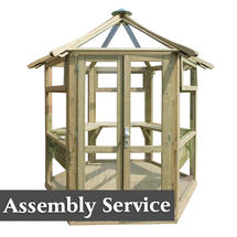 Forest Glasshouse with Assembly Service