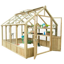Vale Wooden Greenhouse 10 x 8ft