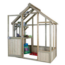 Vale Wooden Greenhouse 6 x 4ft
