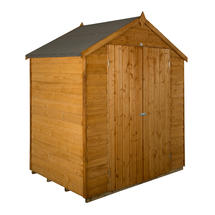 Traditional Roofed Double Door 6x4 Shed