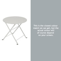 Tom Pouce Small Side Table - Steel Grey