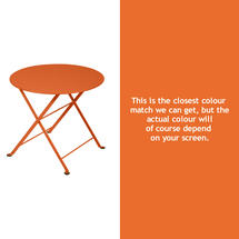 Tom Pouce Small Side Table - Carrot
