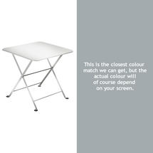 Tom Pouce Small Table 50 x 50cm-Steel Grey