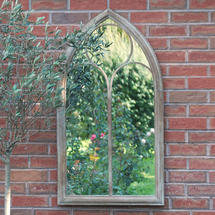 Outdoor Arched Church Mirror