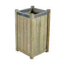 Slender Wooden Planter - Small