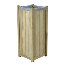 Slender Wooden Planter - Large