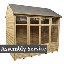 Kempsford Shiplap Summerhouse with Assembly Service