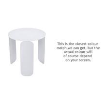 Bebop 45cm Low Table - Cotton White