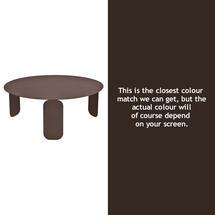 Bebop 80cm Low Table - Russet