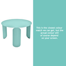 Bebop 60cm Low Table - Lagoon Blue