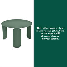 Bebop 60cm Low Table - Cedar Green