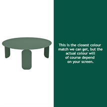 Bebop 80cm Low Table - Cedar Green