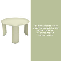 Bebop 60cm Low Table - Willow Green