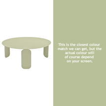 Bebop 80cm Low Table - Willow Green