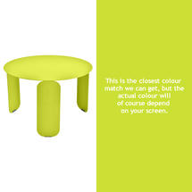 Bebop 60cm Low Table - Verbena Green