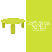 Bebop 80cm Low Table - Verbena Green