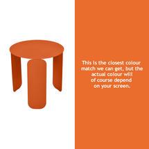 Bebop 45cm Low Table - Carrot