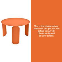Bebop 60cm Low Table - Carrot