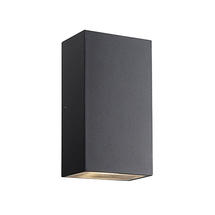 Rold Block Wall Light - Black