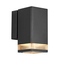 Elm Wall Down Light - Black